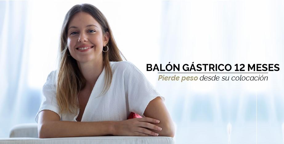 Balón Gassrico 12 meses