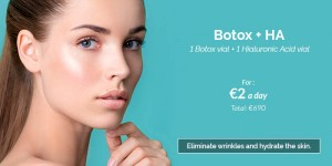 Hyaluronic filler + Botox pack price 2021