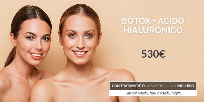 botox y ácido hialurónico precio 2020