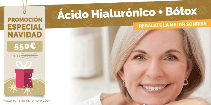 relleno ácido hialurónico y botox