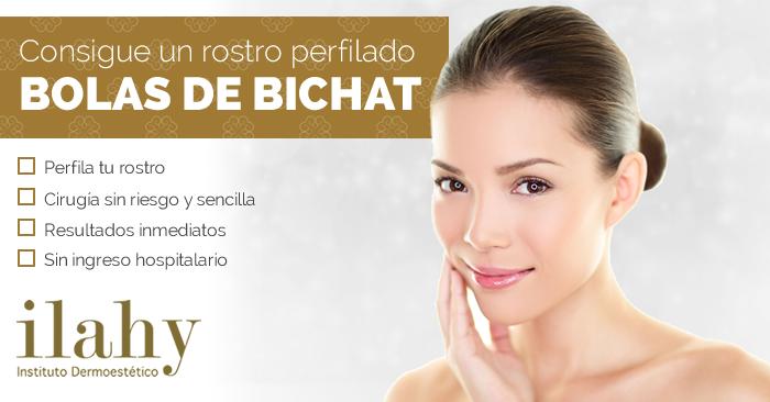 Bolas de Bichat, o cómo conseguir un rostro perfilado