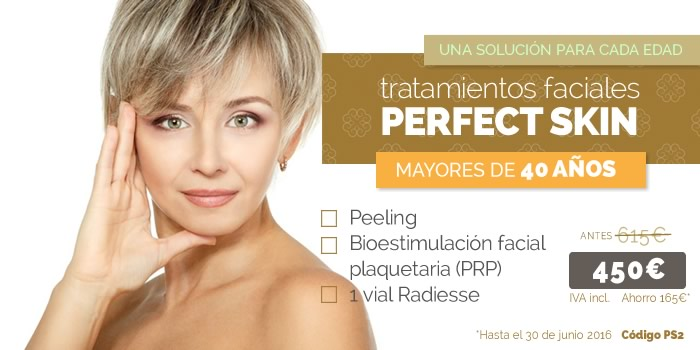 tratamientos faciales para mayores de 40 años