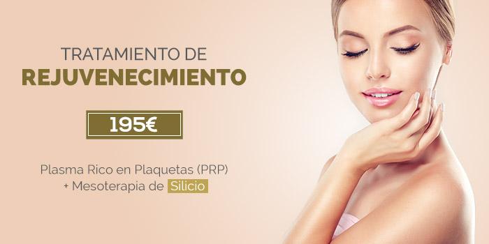 rejuvenecimiento facial con PRP y Mesoterapia