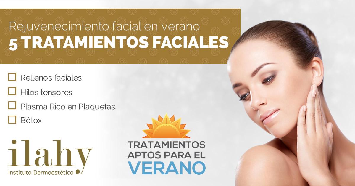 5 Tratamientos De Rejuvenecimiento Facial Para El Verano