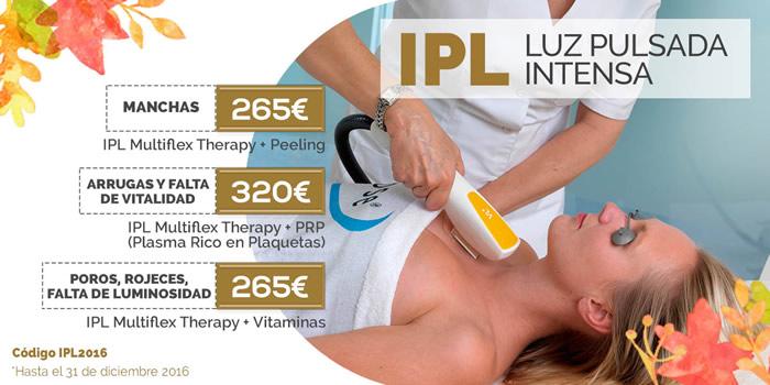 Precio tratamiento IPL para la piel