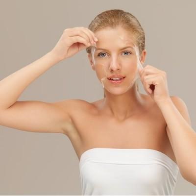 peeling facial médico