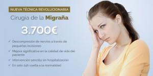 precio de cirugia de la migraña