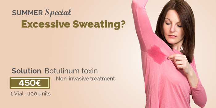 sweating treatment price