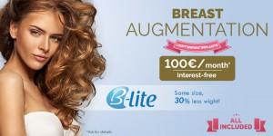 B-Lite, lightweight breast implants price 2018