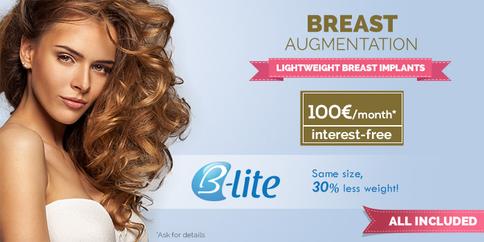 B-Lite, lightweight breast implants