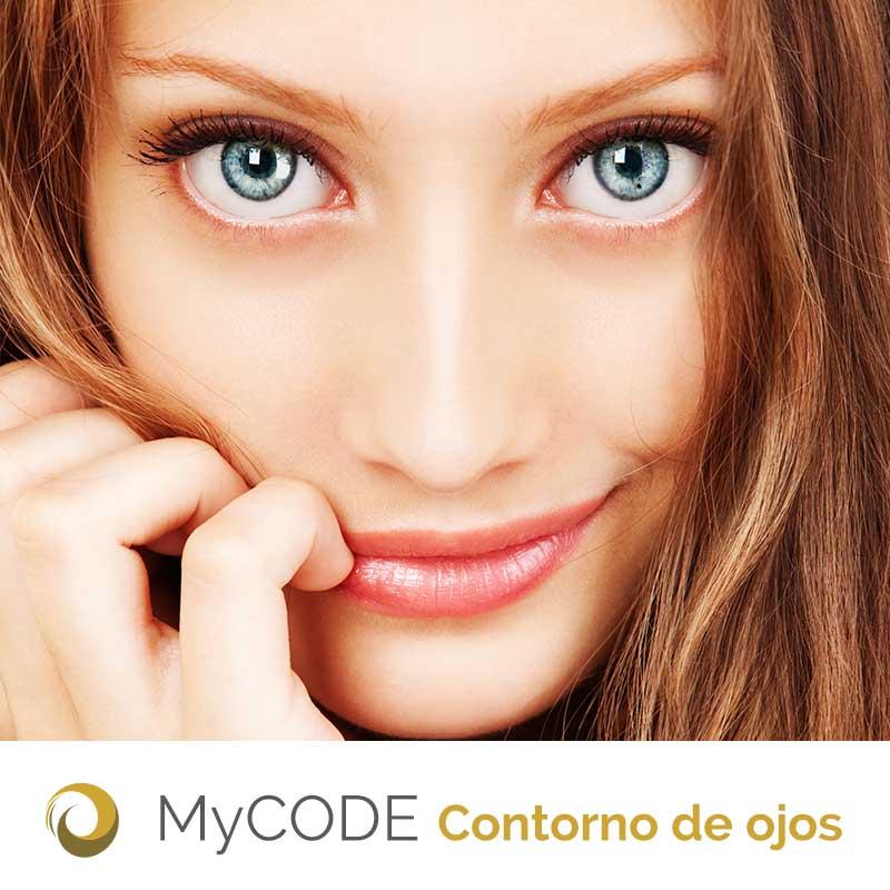 mycode estética contorno ojos