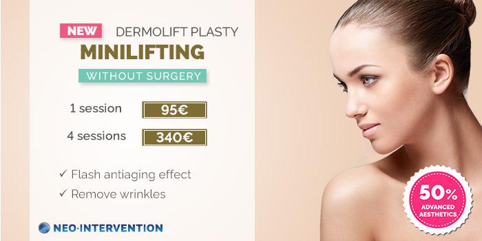 facial minilifting price 2018