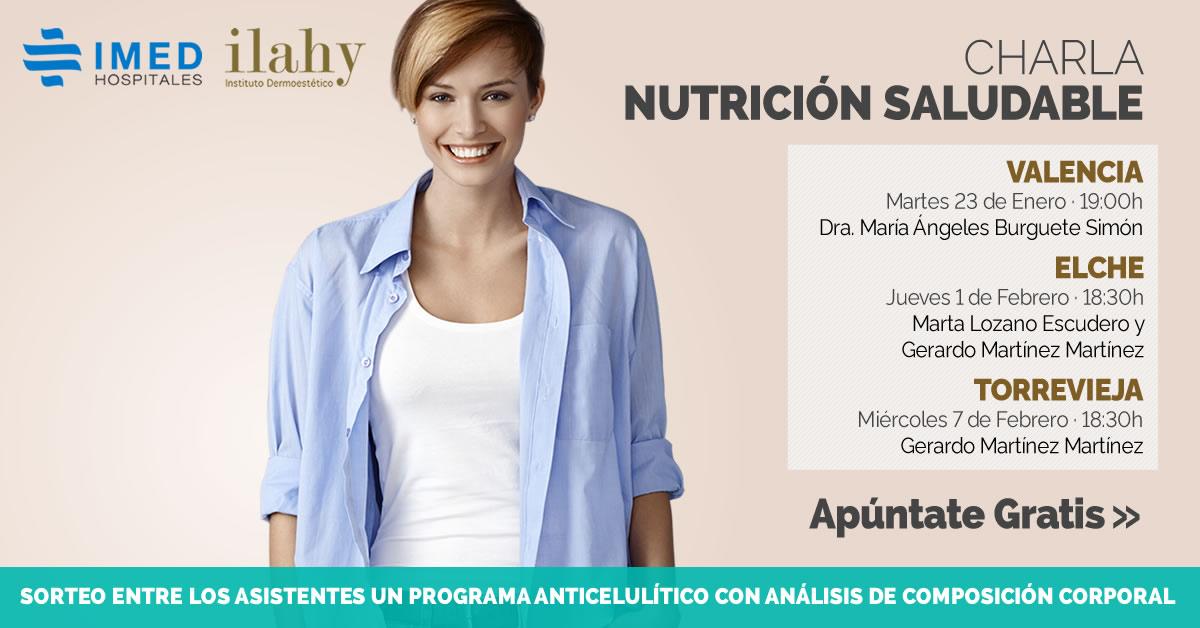 charlas gratuitas de nutrición