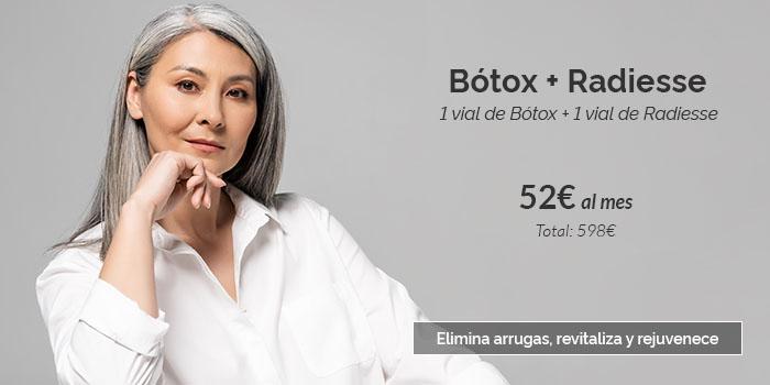 botox y radiesse precio 2021