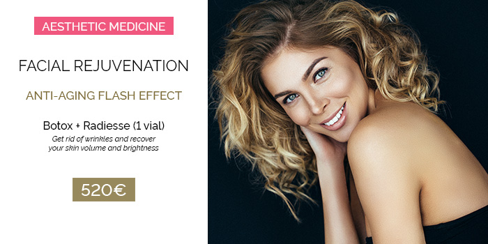 Facial Rejuvenation: Bótox + Radiesse®