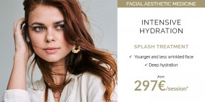 Splash treatments special facial hydration