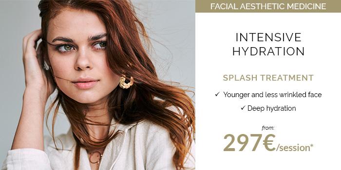 Splash treatments special facial hydration
