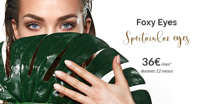 foxy eyes precio 2021